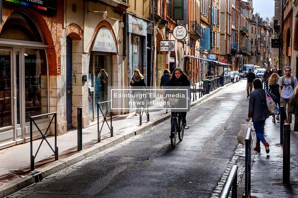 Street scene in the Carmes district of old Toulouse, France<br /> <br /> (c) Andrew Wilson | Edinburgh Elite media
