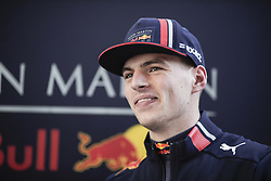 February 18, 2019 - Barcelona, Barcelona, Spain - Max Verstappen from Nederland with 33 Aston Martin Red Bull Racing - Honda RB15 portrait during the Formula 1 2019 Pre-Season Tests at Circuit de Barcelona - Catalunya in Montmelo, Spain on February 18. (Credit Image: © Xavier Bonilla/NurPhoto via ZUMA Press)