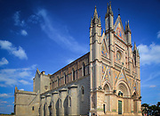 The Duomo di Orvieto is a large 14th century Roman Catholic cathedral situated in the town of Orvieto in Umbria, central Italy.