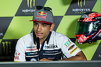Jorge Martin of Spain and Del Conca Gresini Moto3 Team during the press conference for the MotoGP of Catalunya at Circuit de Catalunya on June 10, 2017 in Montmelo, Spain.(ALTERPHOTOS/Rodrigo Jimenez)
