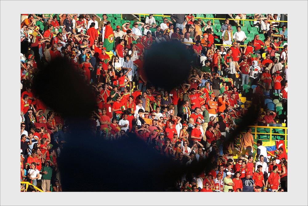 Euro 2004. Portugal - Holland. Lisbon, June 30, 2004.