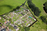 Nederland, Noord-Holland, Edam, 14-07-2008; ..volkstuin volkstuinen, allotment.luchtfoto (toeslag); aerial photo (additional fee required); .foto Siebe Swart / photo Siebe Swart