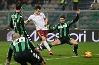 gol Stephan El Shaarawy Roma Goal celebration <br /> Reggio Emilia 02-02-2016 Mapei Stadium Football Calcio Serie A 2015/2016 Sassuolo - Roma .<br /> Foto Image Sport/Insidefoto