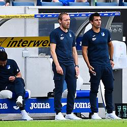 v.r. Co-Trainer Marcel Rapp (Hoffenheim), Interimstrainer Matthias Kaltenbach (Hoffenheim).<br /> <br /> Sport: Fussball: 1. Bundesliga: Saison 19/20: 33. Spieltag: TSG 1899 Hoffenheim - 1. FC Union Berlin, 20.06.2020<br /> <br /> Foto: Markus Gilliar/GES/POOL/PIX-Sportfotos<br /> <br /> Foto © PIX-Sportfotos *** Foto ist honorarpflichtig! *** Auf Anfrage in hoeherer Qualitaet/Aufloesung. Belegexemplar erbeten. Veroeffentlichung ausschliesslich fuer journalistisch-publizistische Zwecke. For editorial use only. DFL regulations prohibit any use of photographs as image sequences and/or quasi-video.