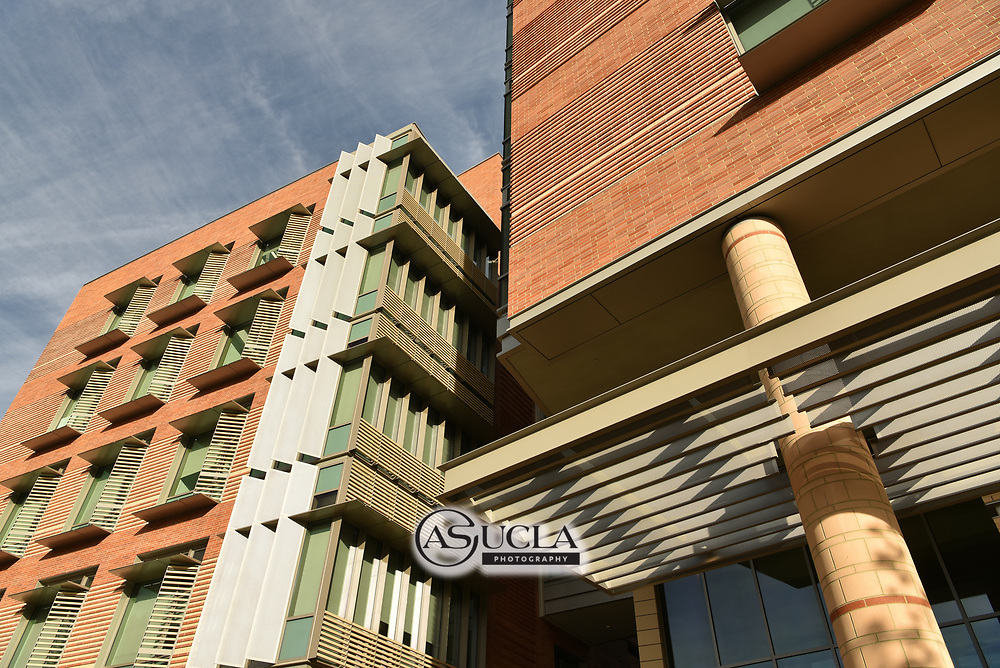ASUCLA Photography Archive -  Exterior image of UCLA Henry Samueli School of Engineering and Applied Science, UCLA Campus. University of California Los Angeles, Westwood, California.<br /> <br /> Copyright: ASUCLA