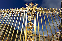 Gilded Gold Fence at the Versailles Palace. Image taken with a Nikon N1 V2 camera at 6.7-13 mm VR lens (ISO 160, 6.7 mm, f/7, 1/1600 sec).