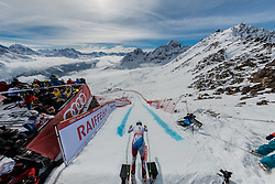 09.02.2017, St. Moritz, SUI, FIS Weltmeisterschaften Ski Alpin, St. Moritz 2017, Abfahrt, Herren, Training, im Bild Carlo Janka (SUI) start am Free Fall // Carlo Janka of Switzerland at the free fall in action during the practice run of men's Downhill of the FIS Ski World Championships 2017. St. Moritz, Switzerland on 2017/02/09. EXPA Pictures © 2017, PhotoCredit: EXPA/ Alessandro Della Bella/ POOL