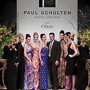 NLD/Amsterdam/20120304 - Modeshow voorjaar 2012 Paul Schulten, Manuela Loth