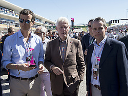 October 22, 2017 - Austin, Texas, U.S - Former 42nd President of the United States ''BILL CLINTON'' attending Formula 1 in Austin, walking the grid. (Credit Image: © Hoss Mcbain via ZUMA Wire)