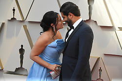 February 24, 2019 - Los Angeles, California, U.S - SONYA YONCHEVA AND HUSBAND DOMINGO HINDOYAN during red carpet arrivals for the 91st Academy Awards, presented by the Academy of Motion Picture Arts and Sciences (AMPAS), at the Dolby Theatre in Hollywood. (Credit Image: © Kevin Sullivan via ZUMA Wire)