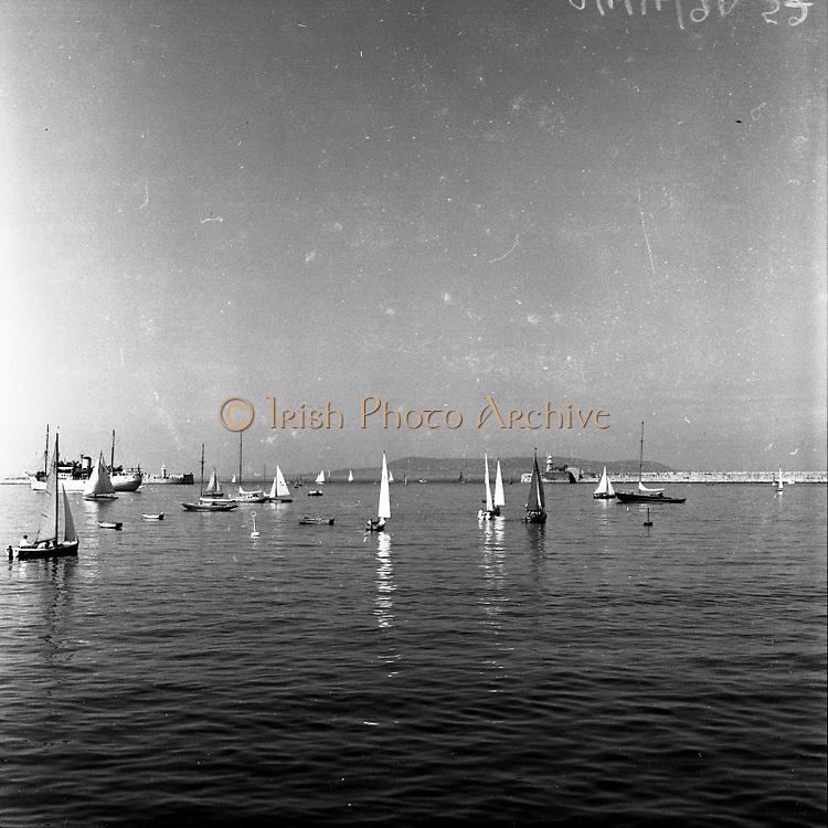Saling Dun Laoighaire, Co. Dublin.16/06/1957
