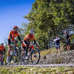 Sportfoto archive 2020<br />World Championships cycling Imola<br />Dutch team Tom Dumoulin, Pieter Weening, Sam Oomen