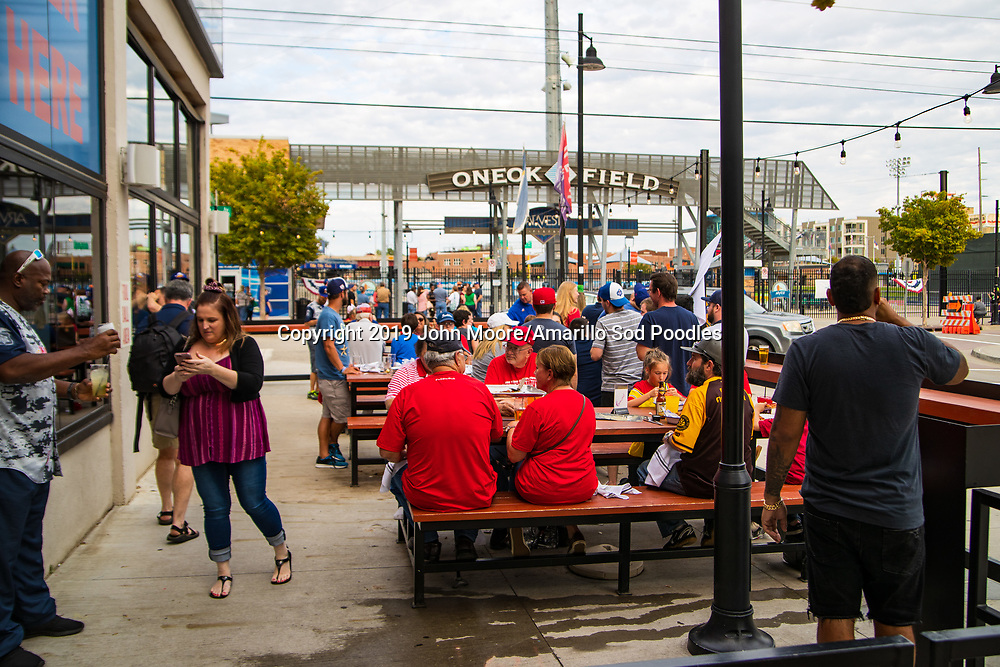 The Amarillo Sod Poodles played against the Tulsa Drillers during the Texas League Championship on Friday, Sept. 13, 2019, at OneOK Field in Tulsa, Oklahoma. [Photo by John Moore/Amarillo Sod Poodles]
