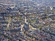 Nederland, Noord-Holland, Amsterdam; 16-04-2021; Amsterdam-Centrum, Westermarkt met Westerkerk en Westertoren. Leliegracht. Prinsengracht met Anne Frankhuis. Raadhuisstraat en deel grachtengordel.<br /> Amsterdam-Center, Westermarkt with Westerkerk and Westertoren. Prinsengracht with Anne Frank House. Raadhuisstraat and belt of canals.<br /> <br /> <br /> luchtfoto (toeslag op standard tarieven);<br /> aerial photo (additional fee required)<br /> copyright © 2021 foto/photo Siebe Swart