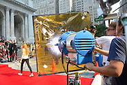 Filming Ad at New York Public Library  2012