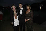 Kate and Ben Goldsmith with Lady Annabel Goldsmith, Party Belle Epoque hosted by The Royal Parks Foundation and Champagne Perrier Jouet. The Grand Spiegeltent, the Lido Lawns. Hyde Park. London. 14 September 2006. ONE TIME USE ONLY - DO NOT ARCHIVE  © Copyright Photograph by Dafydd Jones 66 Stockwell Park Rd. London SW9 0DA Tel 020 7733 0108 www.dafjones.com