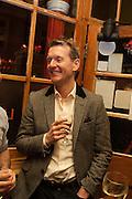 ROBERT DOUGLAS-FAIRHURST, The Omnivore hosts the third Hatchet  Job of the Year Award. Sponsored by the Fish Society.  The Coach and Horses. Greek st. Soho. London. 11 February 2014.
