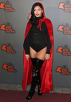 Cara De La Hoyde, Kiss FM Haunted House Party 2016 - VIP Arrivals, The SSE Arena Wembley, London UK, 27 October 2016, Photo by Brett Cove