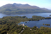 An aerial picture of Ross Castle, Killarney in Killarney National Park.<br /> Picture by Don MacMonagle