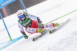 28.12.2018, Panoramapiste, Semmering, AUT, FIS Weltcup Ski Alpin, Riesenslalom, Damen, 1. Lauf, im Bild Eva-Maria Brem (AUT) // Eva-Maria Brem of Austria in action during her 1st run of ladie's Giant Slalom of FIS ski alpine world cup at the Panoramapiste in Semmering, Austria on 2018/12/28. EXPA Pictures © 2018, PhotoCredit: EXPA/ Erich Spiess