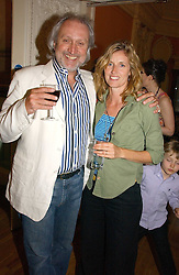 NICK ALLOT and ARABELLA MACMILLAN at a party to celebrate the publication of 'A Much Married Man' by Nicholas Coleridge held at the ESU, Dartmouth House,  37 Charles Street, London W1 on 4th May 2006.<br />