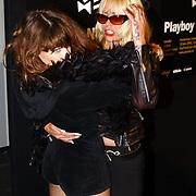 Playboy Night 2004, Ellen Ten Damme en Louise Schiffmacher - van Teylingen