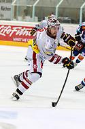 08.Maerz 2012; Rapperswil-Jona; Eishockey NLA - Rapperswil-Jona Lakers - Geneve-Servette HC;<br />  Daniel Rubin (GENF) (Thomas Oswald)
