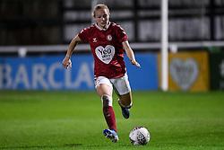 Jemma Purfield of Bristol City Women - Mandatory by-line: Ryan Hiscott/JMP - 14/11/2020 - FOOTBALL - Twerton Park - Bath, England - Bristol City Women v Tottenham Hotspur Women - Barclays FA Women's Super League
