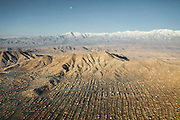 The view over Kabul, capital of Afghanistan...Flight with Kodiak plane from Kabul to Kret village (Wakhan Corridor), over the Panshir valley.