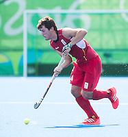 RIO DE JANEIRO  (Brazilië) -  Arthur van Doren (Belg.)  during the poulematch hockey men Belgium v Great Britain (4-1),   Olympic Games 2016 . Copyright Koen Suyk