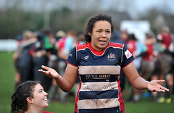 Row Marston of Bristol Ladies - Mandatory by-line: Paul Knight/JMP - 03/02/2018 - RUGBY - Cleve RFC - Bristol, England - Bristol Ladies v Harlequins Ladies - Tyrrells Premier 15s