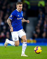 Lucas Digne of Everton - Mandatory by-line: Robbie Stephenson/JMP - 23/12/2018 - FOOTBALL - Goodison Park - Liverpool, England - Everton v Tottenham Hotspur - Premier League