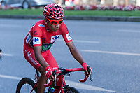 Colombian cyclist Nairo Quintana of Movistar team during the last stage or La Vuelta of Spain in Madrid. September 10, 2016. (ALTERPHOTOS/Rodrigo Jimenez)