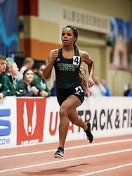 Don Kirby Invitational Indoor Track & Field<br /> Albuquerque, NM, Feb 14, 2020<br /> womens 400m, Sacramento State