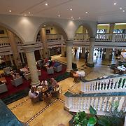 Lobby of our IberoStar Hotel in Havana, Cuba.