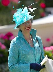 The Princess Royal during day three of Royal Ascot at Ascot Racecourse.