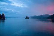 Baranof Island Alaska at Dusk