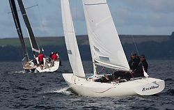 Largs Regatta Festival 2018<br /> <br /> Day 1- Excalibur, Brian Young, Etchells, Class One<br /> <br /> Images: Marc Turner