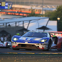 #69, Ford Chip Ganassi Team USA, Ford GT, driven by: Ryan Briscoe, Richard Westbrook, Scott Dixon, 24 Heures Du Mans 85th Edition, 18/06/2017,