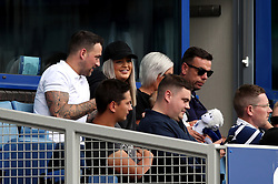 Megan Davison, Jordan Pickford's partner in the stands during the Premier League match at Goodison Park, Liverpool.
