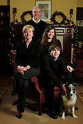 Vukelich Family portrait, including George and Eileen with daughter Elise and son James. Sunday, November 27, 2011. Copyright 2011 Brian J. Morowczynski ViaPhotos
