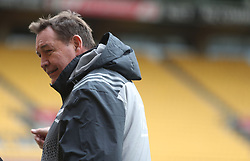 New Zealand's head coach Steve Hansen during the captain's run at the Westpac Stadium, Wellington.