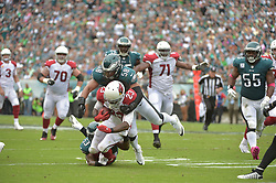 Oct 8, 2017; Philadelphia, PA, The Philadelphia Eagles against the Arizona Cardinals at Lincoln Financial Field. (Photo by John Geliebter/Philadelphia Eagles)