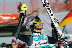29.01.2012, Corviglia, St. Moritz, SUI, FIS Weltcup Ski Alpin, St. Moritz, Damen, Super-G, Superkombination, im Bild Maria Hoefl-Riesch (GER) jubelt // during Super-G, Supercombination of the FIS Ski Alpine Worldcup, Women at the Corviglia Course in St. Moritz, Switzerland on 2012/01/29. EXPA Pictures © 2012, PhotoCredit: EXPA/ Erich Spiess