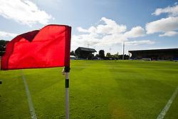 Glebe Park, home of Brechin City Football Club..Brechin City 1 v 2 Falkirk, The Ramsden Cup..©Pic : Michael Schofield.
