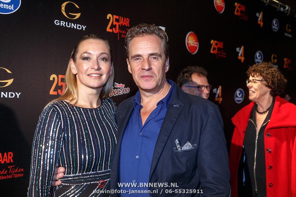 NLD/Amsterdam/20151001 - 25 Jaar Goede Tijden Slechte Tijden, Cynthia Abma en Joep Sertons
