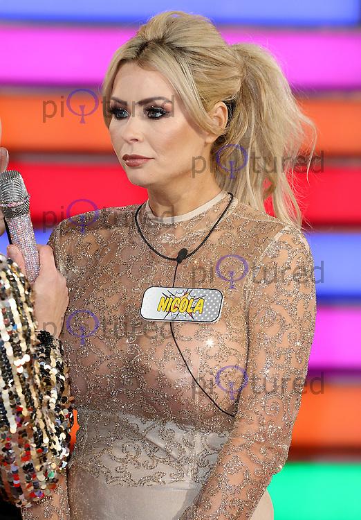 Nicola McLean, Celebrity Big Brother: WInter 2017 - Live Launch Show, Elstree Studios, Elstree UK, 03 January 2017, Photo by Brett D. Cove