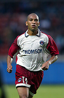 Fotball<br /> Frankrike<br /> <br /> NORWAY ONLY<br /> <br /> FOOTBALL - SEASON 2003/2004 - FRIENDLY GAME - PARIS SG v  FC PORTO - 030726 - PAULO CESAR (PSG) - PHOTO GUY JEFFROY / FLASH PRESS