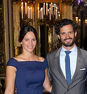 Princess Lilian's look, Stockholm 28-08-2015