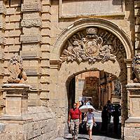 Entrance to Medina, Malta